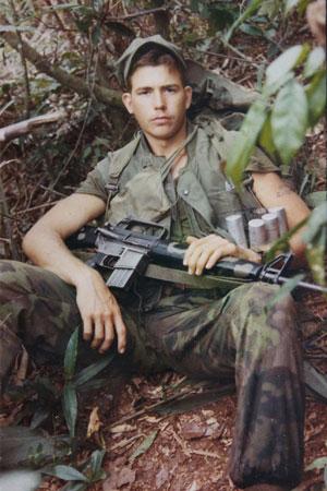 US Marine Bob Moody